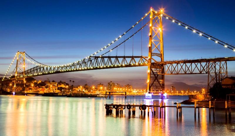 Roteiro de 2 dias em Florianópolis: Ponte Hercílio Luz