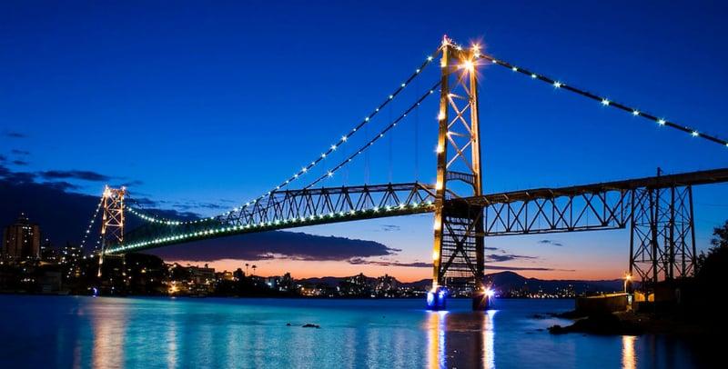 Roteiro de 1 dia em Florianópolis: Ponte Hercílio Luz
