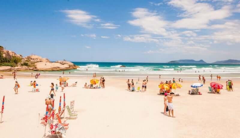 Praias do leste de Florianópolis: Praia da Joaquina