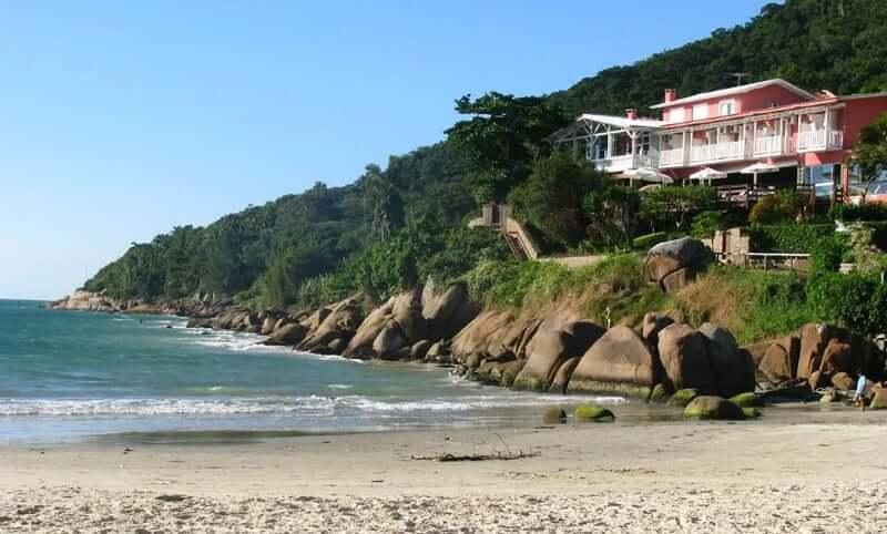 Praia da Lagoinha de Ponta das Canas em Florianópolis: Restaurantes
