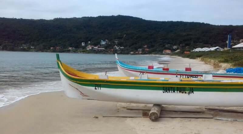Praia da Lagoinha de Ponta das Canas em Florianópolis: Pesca