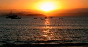 Praia da Lagoinha de Ponta das Canas em Florianópolis: