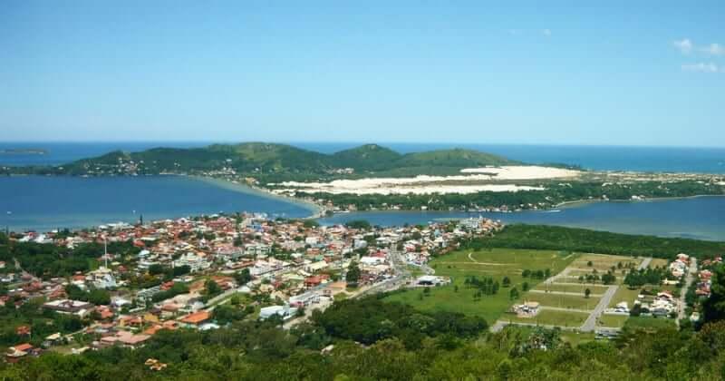 Praias do leste de Florianópolis: Mirante Manoel de Menezes
