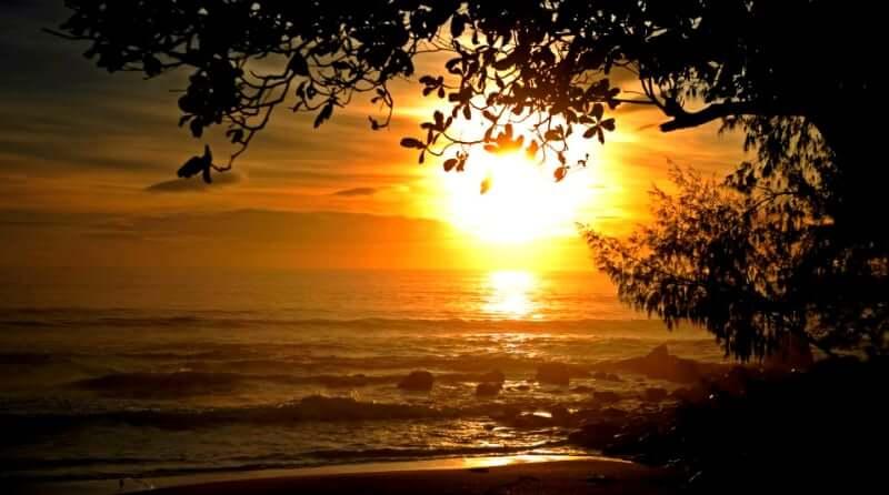 Praias do leste de Florianópolis: Nascer do Sol