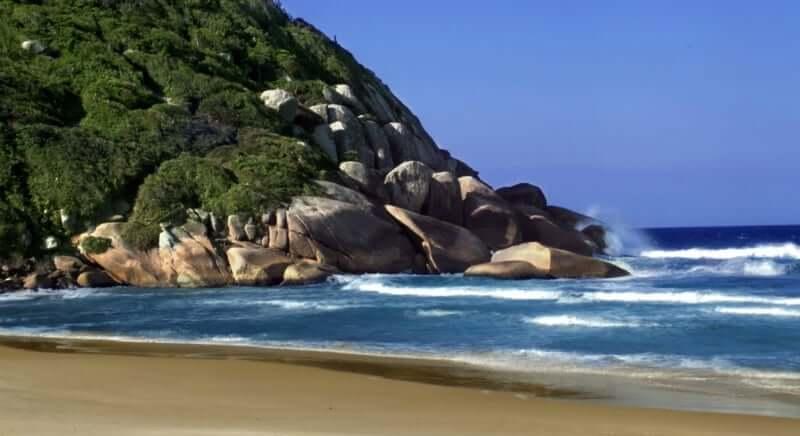 Melhores praias em Florianópolis: Praia Brava