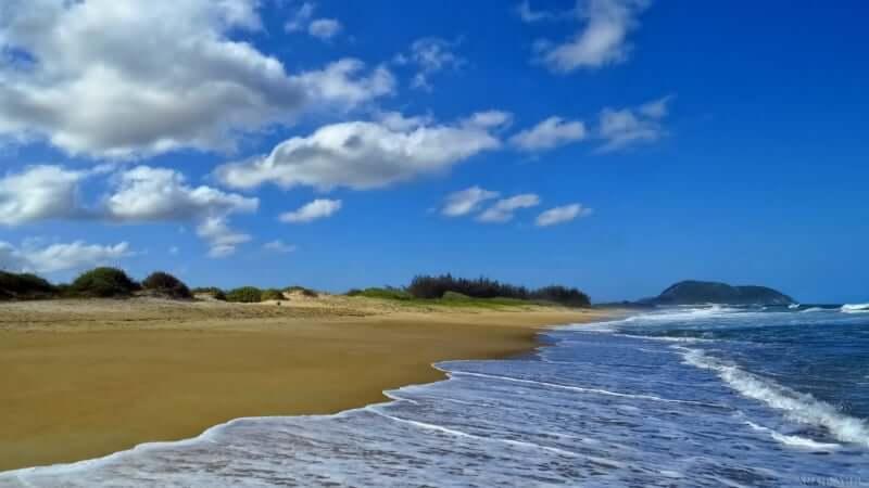 Melhores praias em Florianópolis: Praia Moçambique