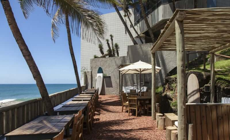 Bares em Salvador: Blue Praia Bar