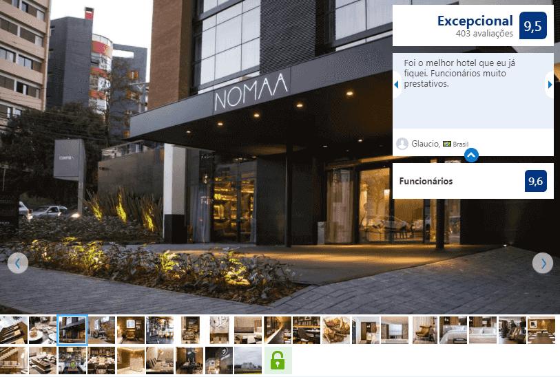 Melhores hotéis em Curitiba: Nomaa