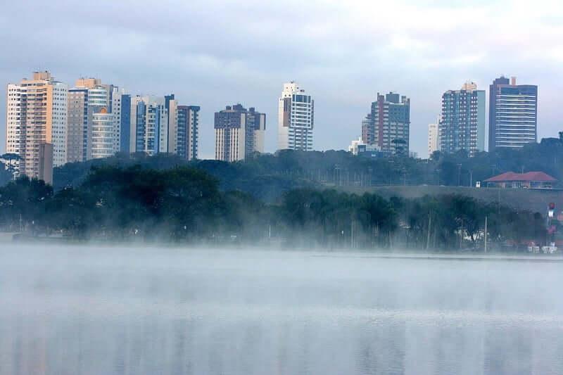 Clima e temperatura em Curitiba