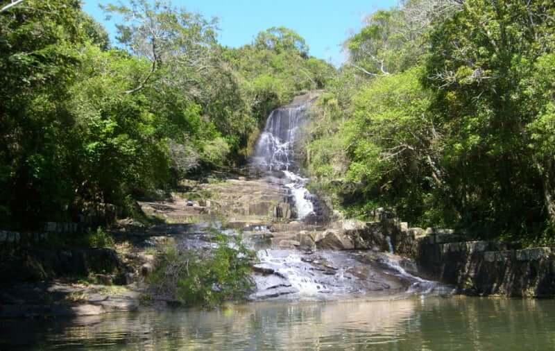 Costa da Lagoa em Florianópolis: Cachoeira