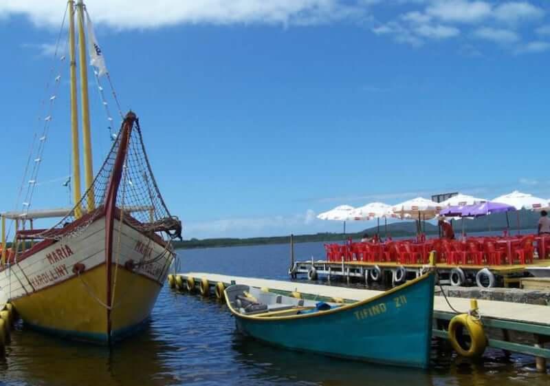 Costa da Lagoa em Florianópolis: Passeio de barco