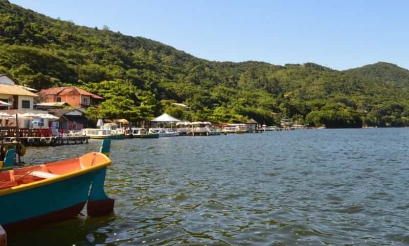 Costa da Lagoa em Florianópolis: Margem