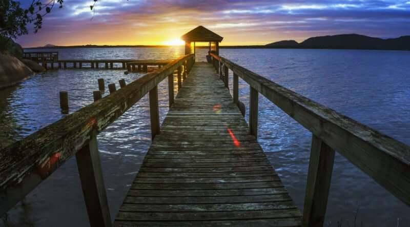 Costa da Lagoa em Florianópolis