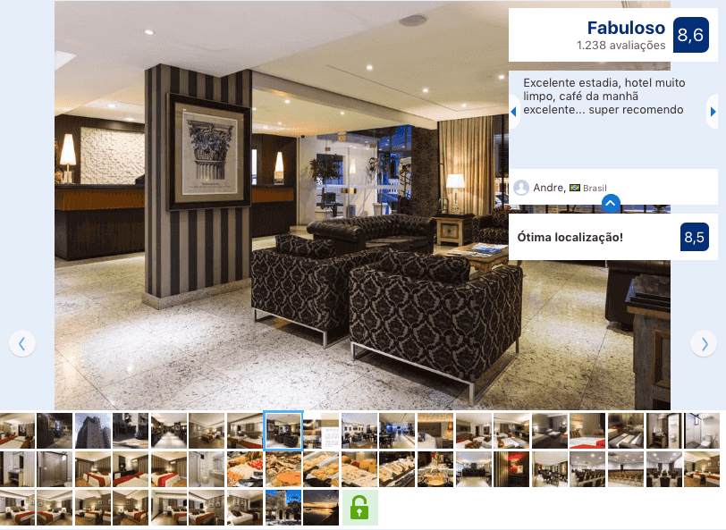 Hotéis no centro de Florianópolis: Avaliação Faial Prime Suítes