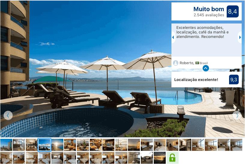 Hotéis no centro de Florianópolis: Avaliação Majestic Palace Hotel