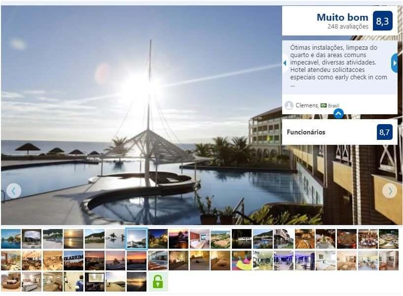 Hotéis de luxo em Florianópolis: Avaliação do Costão do Santinho Resort All Inclusive