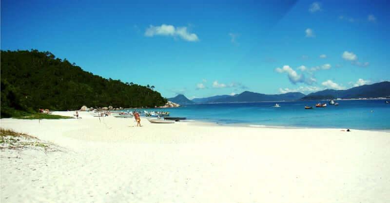 Praias do sul de Florianópolis: Ilha do Campeche