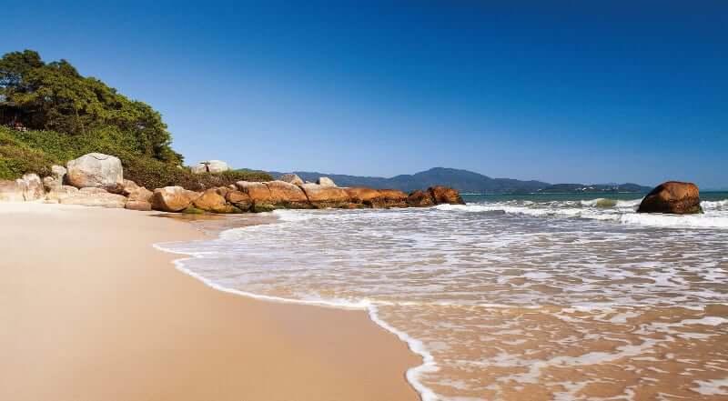 Praias do norte de Florianópolis: Jurerê Internacional