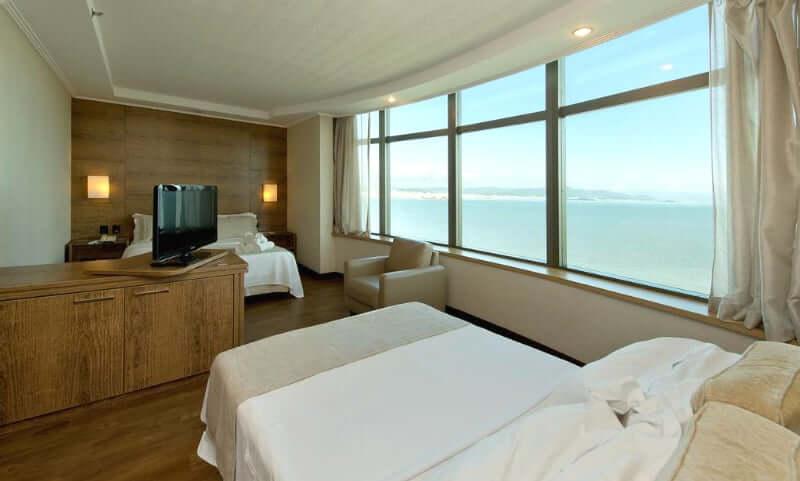 Hotéis de luxo em Florianópolis: Vista incrível do Majestic Palace Hotel