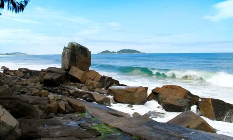 Praias do sul de Florianópolis: Morro das Pedras