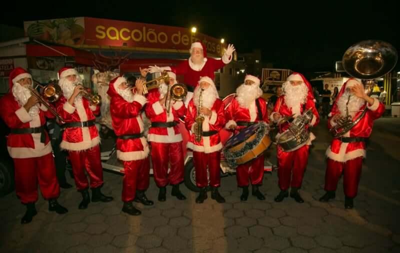 Natal em Florianópolis: Banda dos Papais Noéis