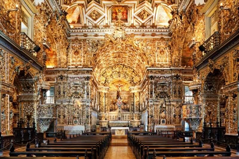 O que fazer em Salvador: Igreja de São Francisco