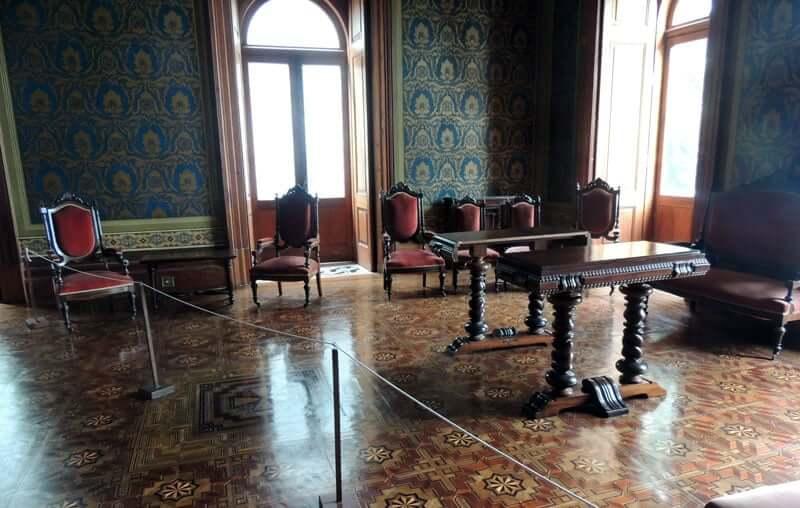 Palácio Cruz e Sousa em Florianópolis: Cômodo