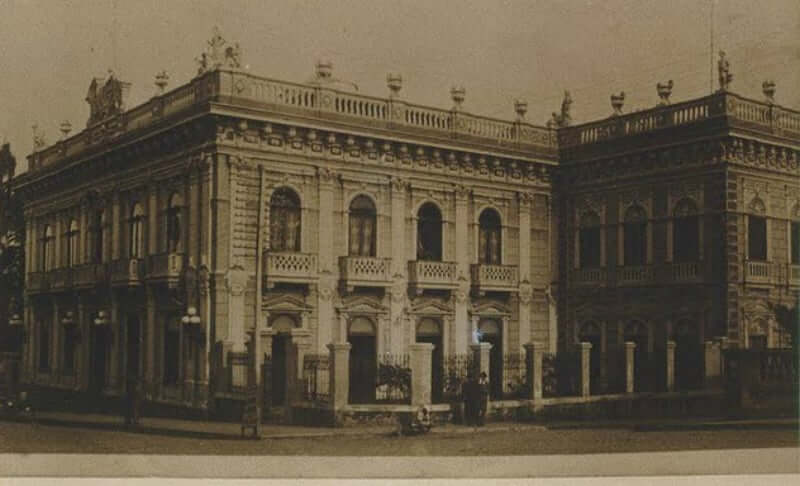 Palácio Cruz e Sousa em Florianópolis: Antigamente