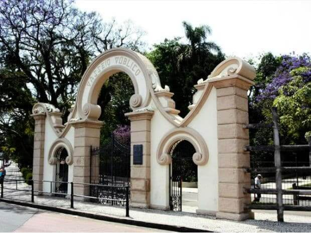 Parques em Curitiba: Passeio Público