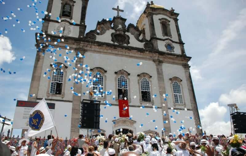 Pontos turísticos em Salvador: Basílica do Senhor do Bonfim