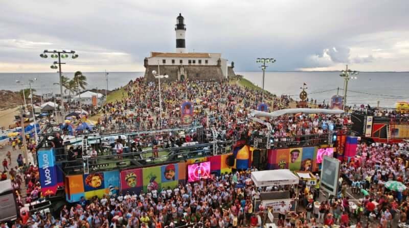 Pontos turísticos em Salvador: Carnaval