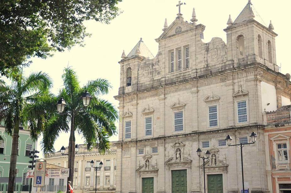 Pontos turísticos em Salvador: Catedral Basílica Primacial de São Salvador da Bahia