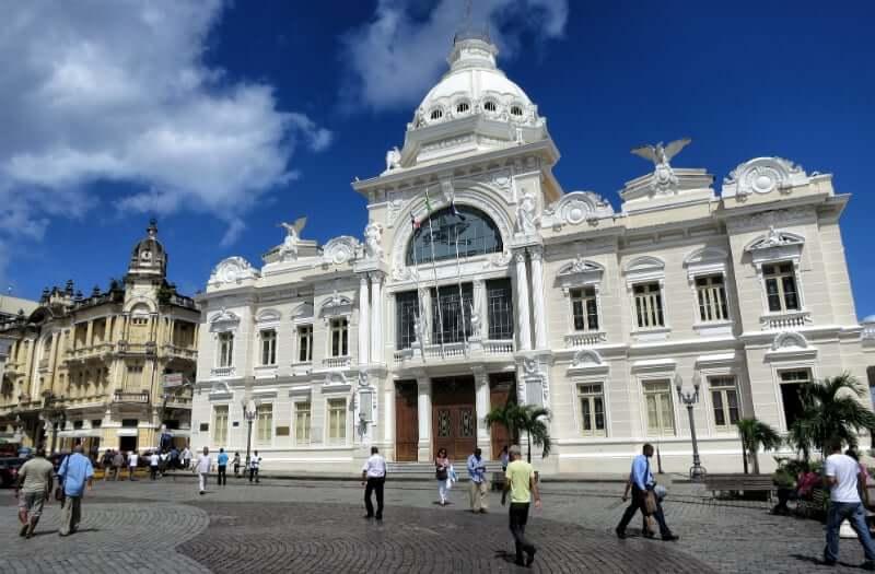 Pontos turísticos em Salvador: Palácio Rio Branco