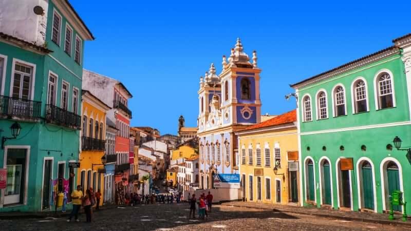 Pontos turísticos em Salvador: Pelourinho