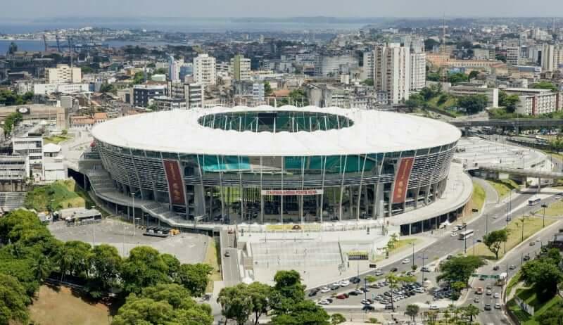 Pontos turísticos em Salvador: Arena Fonte Nova