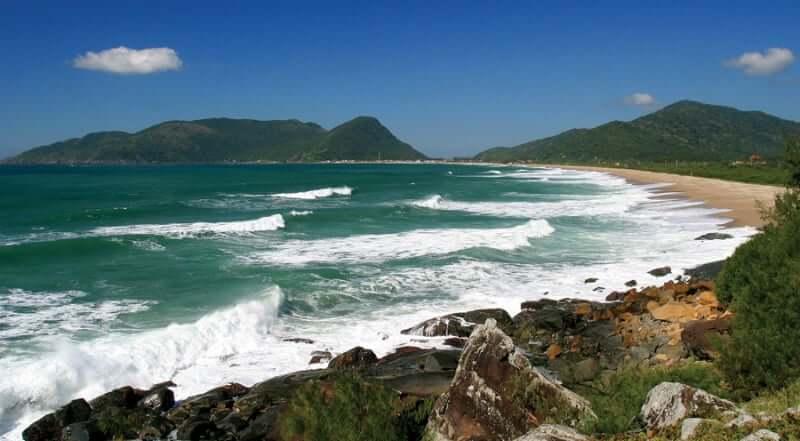 Praias do sul de Florianópolis: Praia da Armação