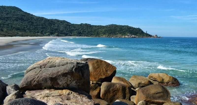 Praias do sul de Florianópolis: Praia de Naufragados