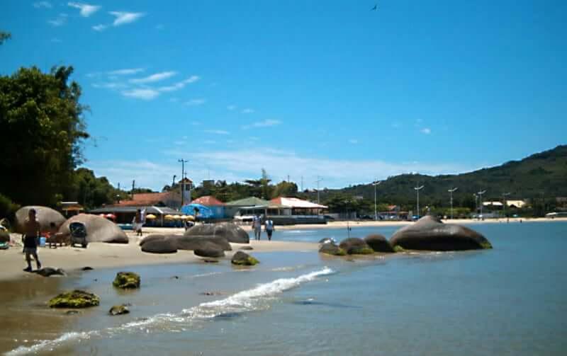 Praias do norte de Florianópolis: Praia Ponta das Canas