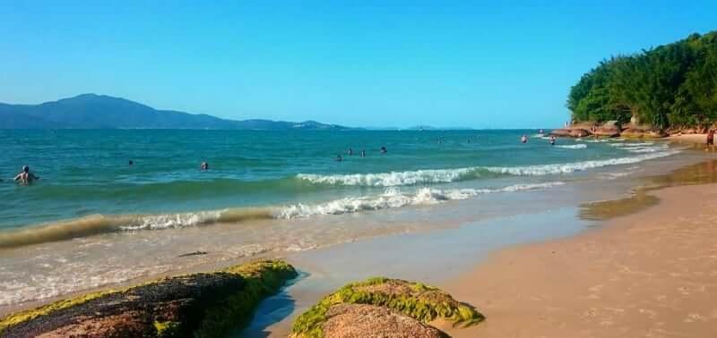Praias do norte de Florianópolis: Praia da Daniela