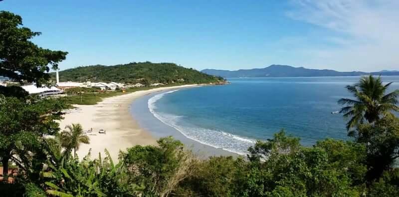 Praias do norte de Florianópolis: Praia da Lagoinha do Norte