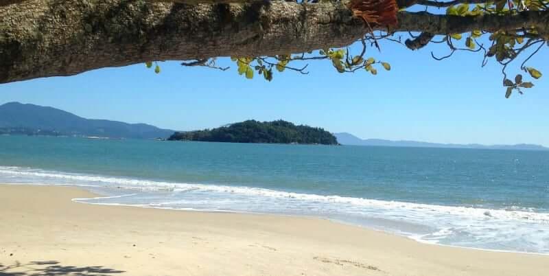Praias do norte de Florianópolis: Praia de Canasvieiras