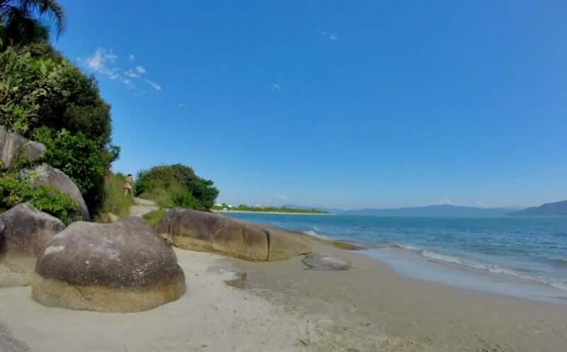 Praias do norte de Florianópolis: Praia do Forte