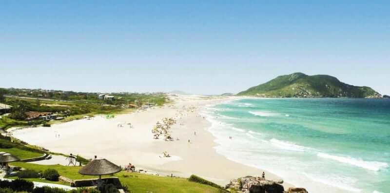 Praias do norte de Florianópolis: Praia do Santinho