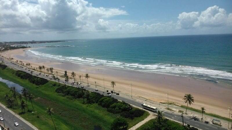 Melhores praias em Salvador: Praia de Jaguaribe