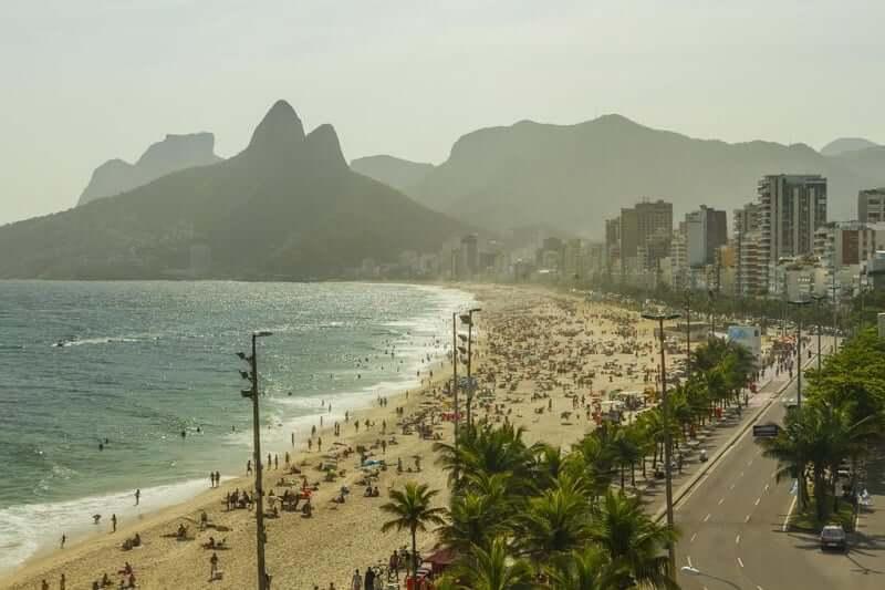 Arpoador no Rio de Janeiro