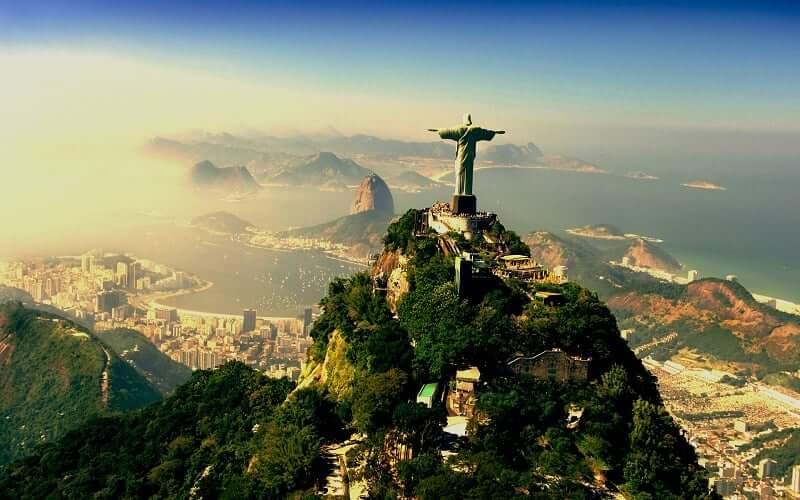 Cristo Redentor no Rio de Janeiro