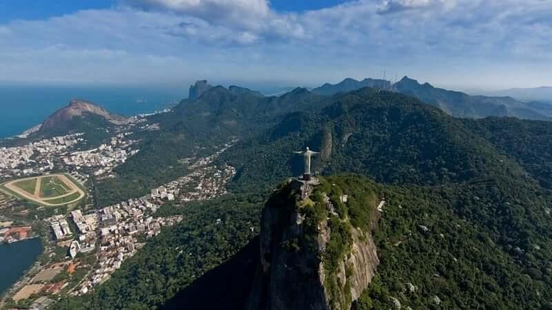 Floresta da Tijuca no Rio de Janeiro