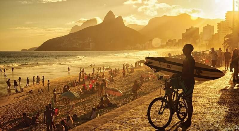 Curtir a Praia de Ipanema no Rio de Janeiro