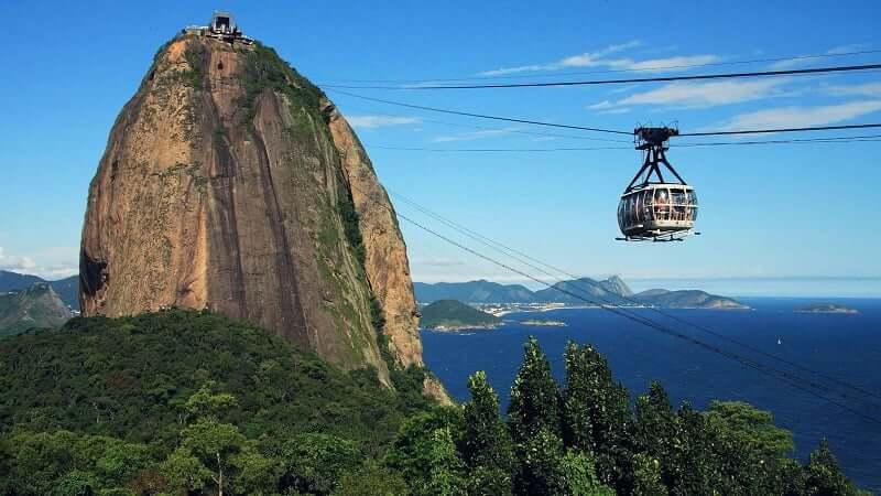 Visitar o Pão de Açúcar no Rio de Janeiro