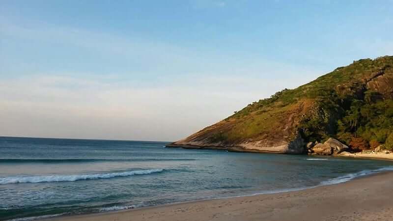 Praia de Guamari no Rio de Janeiro